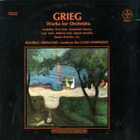 Maurice Abravanel - Grieg: Works for Orchestra Vol. I