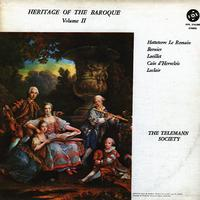 The Telemann Society - Heritage Of The Baroque Vol. II