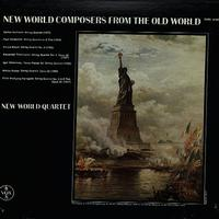 New World Quartet - New World Composers From The Old World