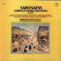 Marylene Dosse and Annie Petit - Saint-Saens: Complete Works for Piano Vol. 2