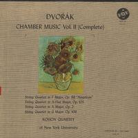 Kohon Quartet of New York University - Dvorak: Chamber Music Vol. II