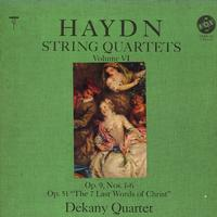 Dekany Quartet - Haydn: String Quartets Vol. VI
