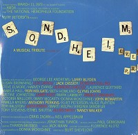 Original Cast Recording - Sondheim/ A Musical Tribute