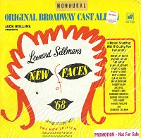 The Original Cast Recording - New Faces Of 1968
