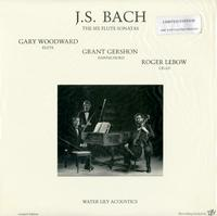 Woodward, Gershon, Lebow - J.S. Bach: The Six Flute Sonatas