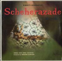 Scherchen, Vienna State Opera Orchestra - Rimsky-Korsakov: Shcheherazade