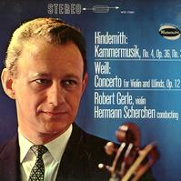 Robert Gerle - Hindemith: Kammermusik etc.