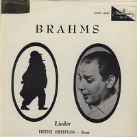 Heinz Rehfuss - Brahms: Lieder