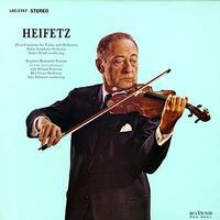 Pfeiffer, Chase & Heifetz - Rozsa: Violin Concerto/ Benjamin: Romantic Fantasy/ Heifetz, violin