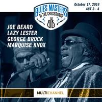 Joe Beard, Lazy Lester, Big George Brock, and Marquise Knox - 17th Annual Blues Masters at the Crossroads