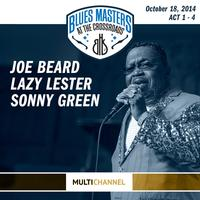 Joe Beard, Lazy Lester & Sonny Green - 17th Annual Blues Masters at the Crossroads