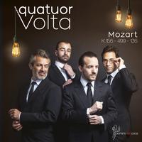 Quatuor Volta - Mozart: KV.156, KV.499, KV.136