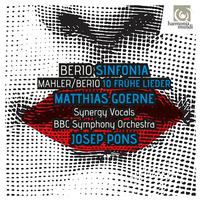 Matthias Goerne, The Synergy Vocals, BBC Symphony Orchestra and Josep Pons - Berio: Sinfonia - Berio & Mahler: Fruhe Lieder -  FLAC 48kHz/24Bit Download