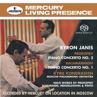Byron Janis - Rachmaninov: Piano Concerto No. 1/ Prokofiev: Piano Concerto No. 1