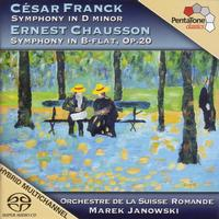 Marek Janowski - Franck: Symphony in D Minor / Chausson: Symphony in B-Flat Major -  DSD Multichannel 2.8MHz/64fs Download