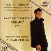 Francesco Tristano Schlime - Ravel: Piano Concerto in G Major / Prokofiev: Piano Concerto No. 5 / Schlime: 3 Improvisations