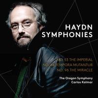 Carlos Kalmar - Haydn: Symphonies Nos. 53, 64 & 96 (Live)