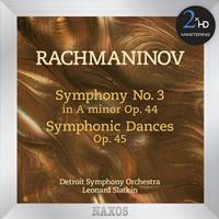 Detroit Symphony Orchestra - Rachmaninov: Symphony No. 3 - Symphonic Dances