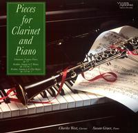 Susan Grace - Schumann & Brahms - Pieces for Clarinet & Piano