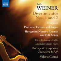 Budapest Symphony Orchestra MAV - Weiner: Complete Orchestral Works, Vol. 3