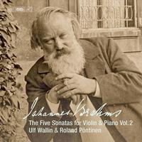 Ulf Wallin - Brahms: Works for Violin & Piano, Vol. 2