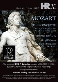 Gerard Schwarz - Mozart: Piano Concertos No. 21 & 24 -  ALAC 176kHz/24bit Download