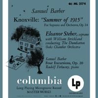 Rudolf Firkusny - Barber: Knoxville-Summer of 1915, Op. 24 & Four Excursions, Op. 20 - Hanson: Piano Concerto in G Major, Op. 36 (Remastered)