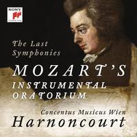 Nikolaus Harnoncourt - Mozart Symphonies Nos. 39, 40 & 41