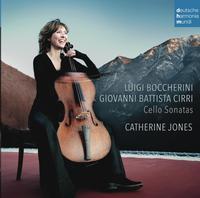 Catherine Jones - Boccherini & Cirri: Cello Sonatas