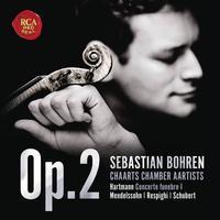 Sebastian Bohren - Op. 2 - Hartmann, Mendelssohn, Respighi, Schubert -  FLAC 48kHz/24Bit Download