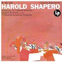 Leonard Bernstein - Shapero: Symphony for Classical Orchestra
