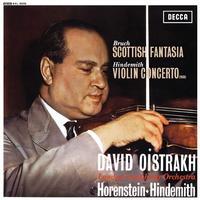 David Oistrakh - Bruch: Scottish Fantasia / Hindemith: Violin Concerto (1939)