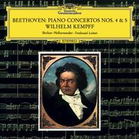 Wilhelm Kempff - Beethoven: Piano Concertos Nos. 4 & 5 -  FLAC 96kHz/24bit Download
