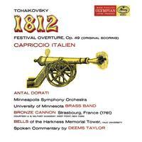Minneapolis Symphony Orchestra - Tchaikovsky: 1812 Festival Overture; Capriccio Italien