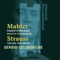 Sergiu Celibidache - Mahler: Kindertotenlieder - Strauss, Richard: Tod und Verklarung (HD)