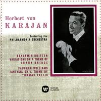 Herbert von Karajan - Britten Variations on a Theme of Frank Bridge - Vaughan Williams Fantasia on a Theme by Thomas Tallis