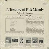 Dragon, Capitol Symphony Orchestra and Hollywood Bowl Symphony Orchestra - A Treasury Of Folk Melody Vol. 2 European