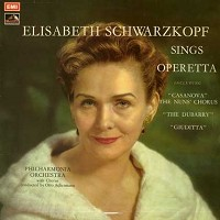 Schwarzkopf , Ackermann, The Philharmonia Orchestra - Schwarzkopf Sings Operetta -  Preowned Vinyl Record