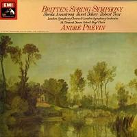 Previn, London Symphony Orchestra - Britten: Spring Symphony