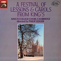 Ledger, King's College Choir,Cambridge - A Festival of Lessons & Carols from King's