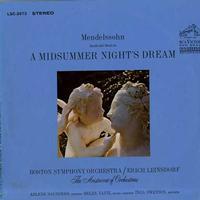 Leinsdorf, Boston Symphony Orchestra - Mendelssohn: A Midsummer Night's Dream