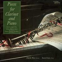 Charles West, Susan Grace - Pieces for Clarinet and Piano