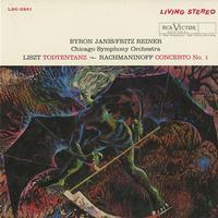 Janis, Reiner, Chicago Symphony Orchestra - Liszt: Todtentanz etc.