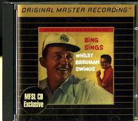 Bing Crosby - Bing Sings Whilst Bregman Swings -  Preowned Gold CD