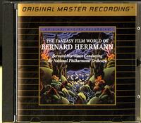 Bernard Herrmann, National Philharmonic Orchestra - The Fantasy Film World Of Bernard Herrmann -  Preowned Gold CD