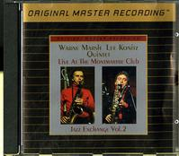 Wayne Marsh, Lee Konitz - Live At The Montmartre Club