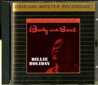 Billie Holiday - Body and Soul -  Preowned Gold CD