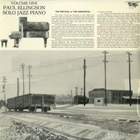 Paul Ellingson - Solo Jazz Piano Vol. 1