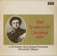 Gibson, L'orchestre de la Suisse Romande - Bizet: Symphony in C Major etc.