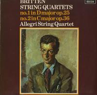 Allegri String Quartet - Britten: String Quartets Nos. 1 & 2